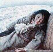 艾轩油画作品1:静静的冻土带 高清图片下载