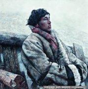 艾轩油画作品2:就让风把歌声吹散 高清图片下载