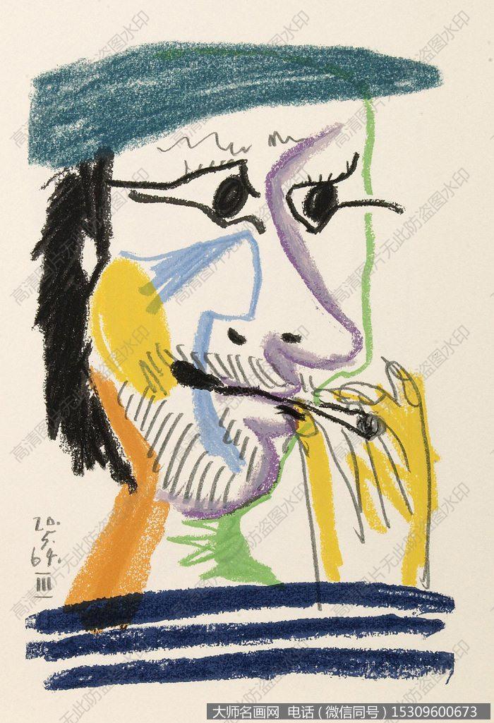 毕加索油画作品4 超高清大图下载_大师名画网