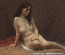 靳尚谊人体油画作品19 女人体 高清图片下载