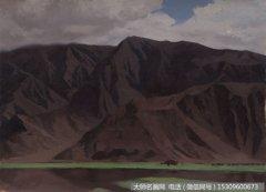 靳尚谊风景油画作品23 高清图片下载