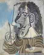 毕加索油画作品24 高清图片下载