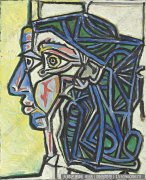 毕加索油画作品26 高清图片下载