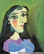 毕加索油画作品27 高清图片下载