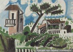 毕加索油画作品29 高清图片下载