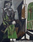 毕加索油画作品31 高清图片下载