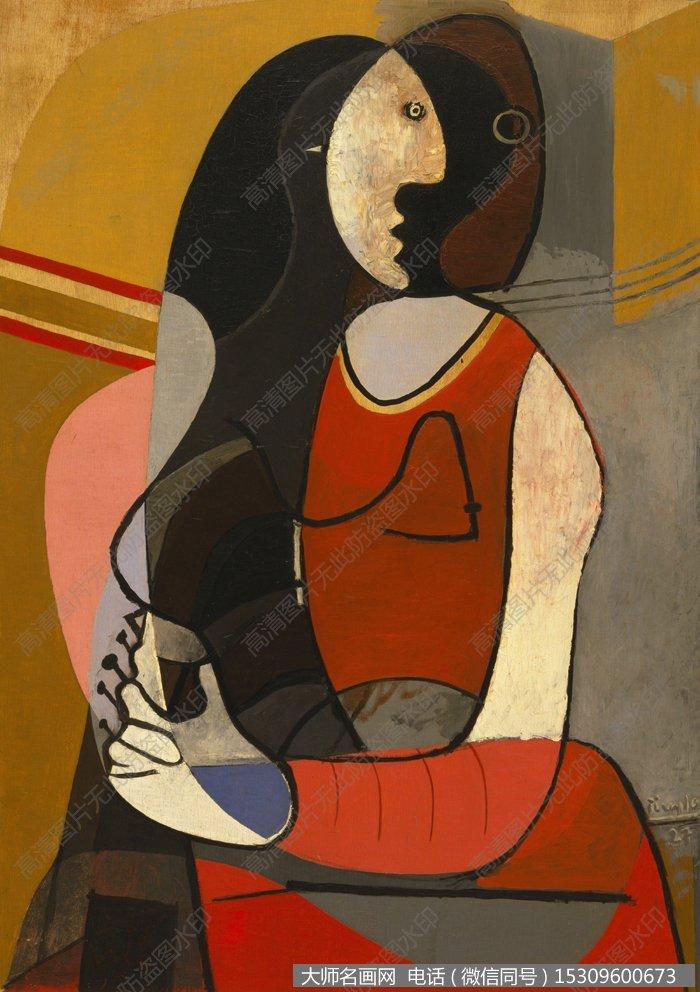 毕加索油画作品36 高清图片下载_大师名画网