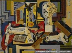 毕加索油画作品37 高清图片下载