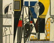 毕加索油画作品39 高清图片下载