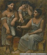 毕加索油画作品42 高清图片下载