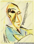 毕加索油画作品45 高清图片下载