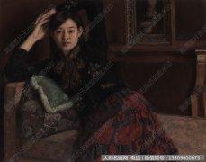 杨飞云油画作品21 畅然 高清图片下载
