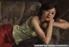 杨飞云油画作品22 花沙发 高清图片下载
