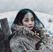 艾轩人物油画作品24 高清图片下载