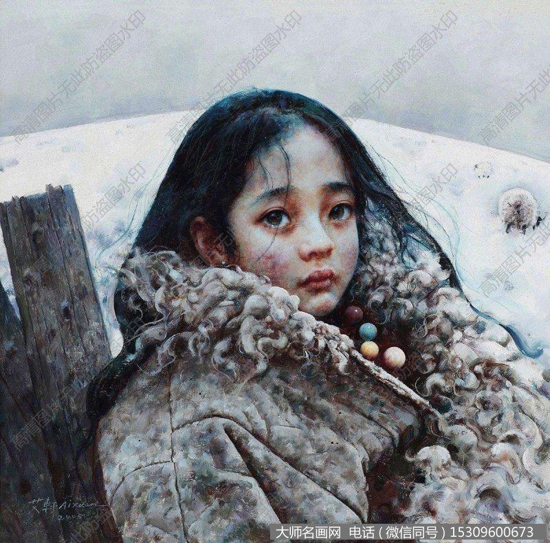 艾轩人物油画作品24 高清图片下载:      下载的图片为jpg格式无水印