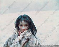 艾轩人物油画作品36 大荒原 高清图片下载