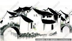 吴冠中国画作品21 超高清图片下载