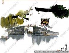 吴冠中国画作品20 超高清图片下载