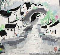 吴冠中国画作品39 超高清图片下载