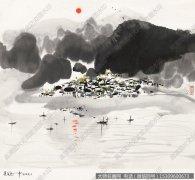 吴冠中国画作品52 超高清图片下载