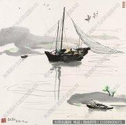 吴冠中国画作品56 超高清图片下载