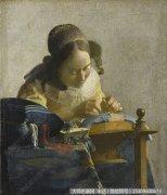 维米尔人物油画作品26 高清图片下载