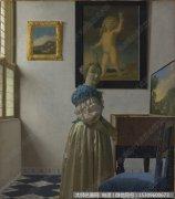 维米尔人物油画作品29 高清图片下载