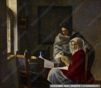 维米尔油画作品41 高清图片下载