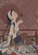 靳尚谊油画作品26 高清图片下载