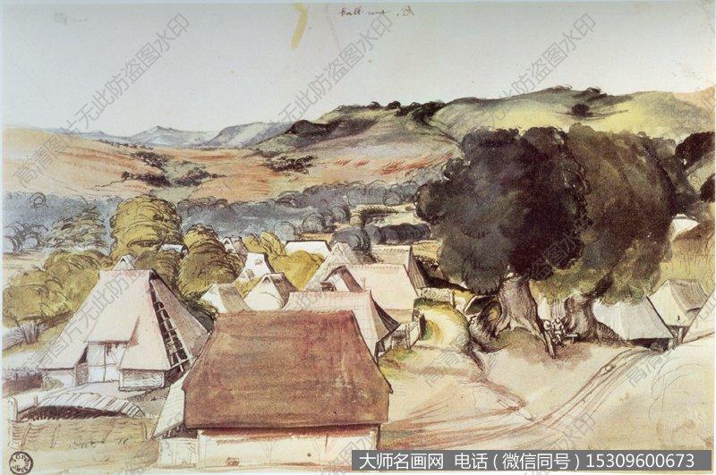 丢勒风景油画作品15 高清图片下载