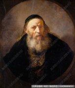 伦勃朗人物油画作品25 高清图片下载