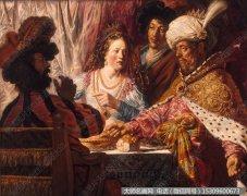 伦勃朗油画作品42 高清图片下载