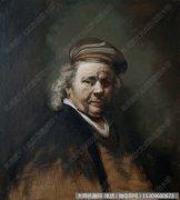 伦勃朗人物油画作品46 高清图片下载