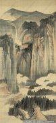 张大千山水画作品14 高清图片下载
