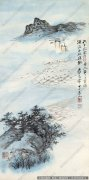 张大千山水画作品23 高清图片下载