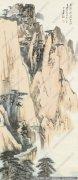 张大千山水画作品28 高清图片下载