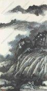 张大千山水画作品48 高清图片下载