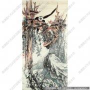张大千国画作品52 高清图片下载