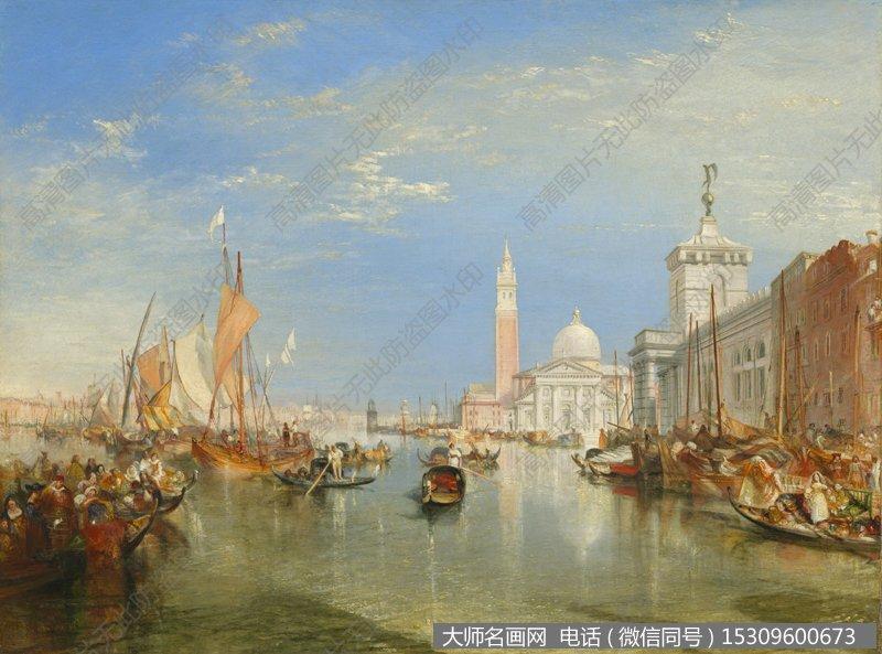 透纳风景油画作品2 高清图片下载