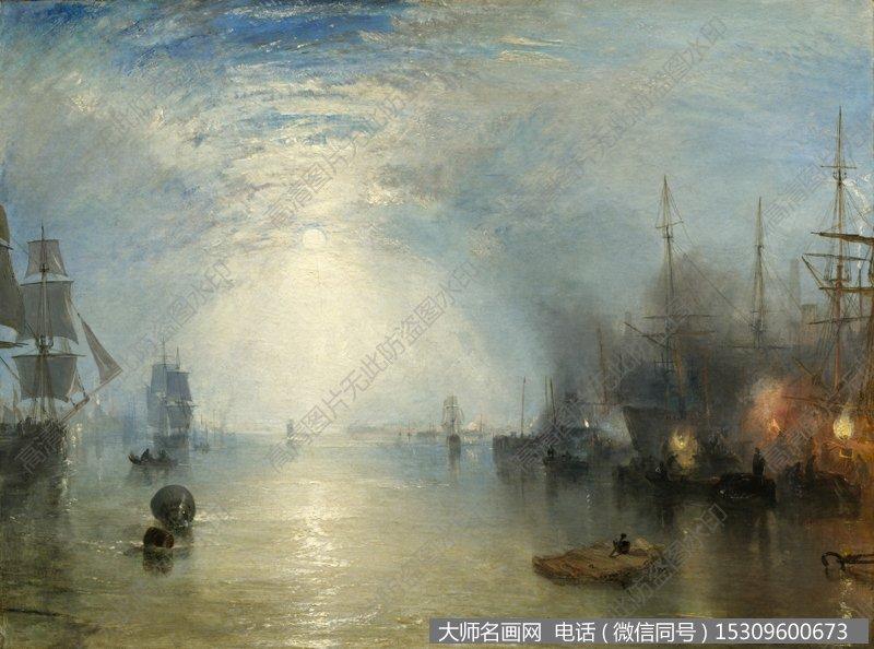 透纳风景油画作品4 高清图片下载