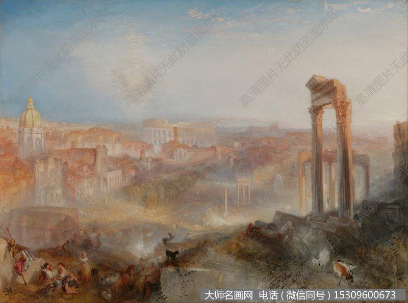 透纳风景油画作品16 高清图片下载