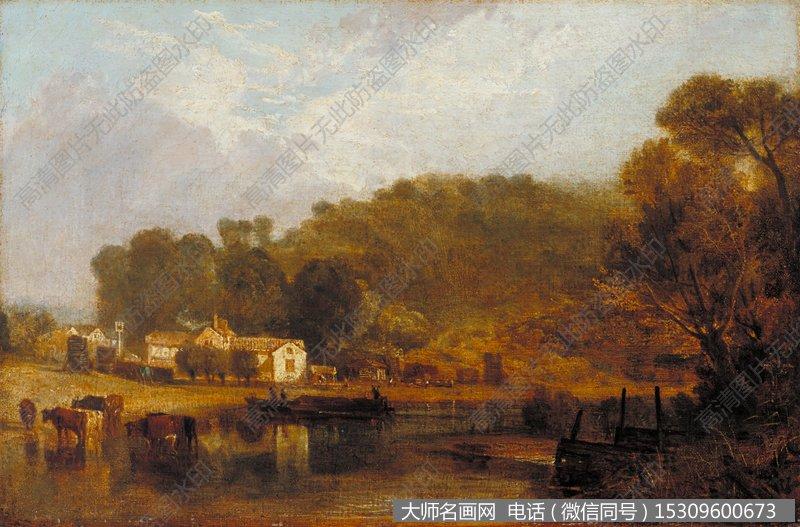 透纳风景油画作品22 高清图片下载