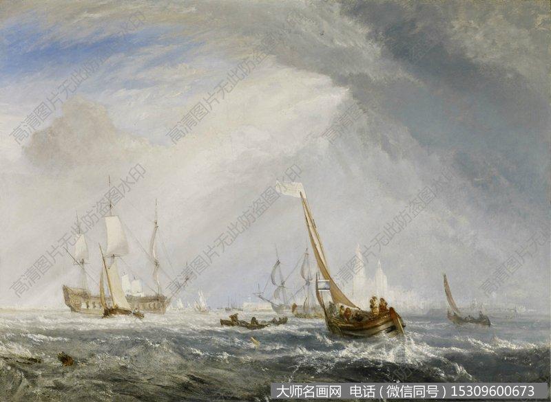 透纳风景油画作品33 高清图片下载