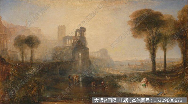 透纳风景油画作品44 高清图片下载_大师名画网