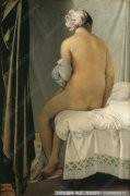 安格尔人物油画作品10 浴女 高清图片下载
