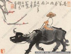 李可染国画作品65 高清图片下载