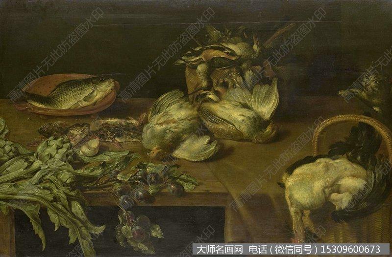 达芬奇静物油画作品54 高清图片下载_大师名画网