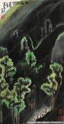 李可染 山水画作品74 高清图片下载
