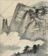 张大千国画作品86 高清图片下载