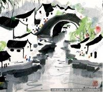 吴冠中国画作品68 超高清图片下载